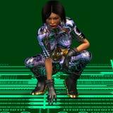 futuregirl 5 απεικόνιση αποθεμάτων