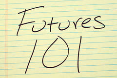 Free Futures 101 On A Yellow Legal Pad Stock Photos - 97986913