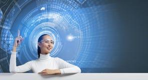 Futures technologies Photographie stock libre de droits