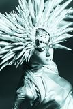 Futurism. Shot of a futuristic young woman stock photos