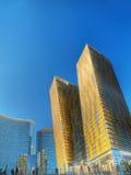 Futurist city Royalty Free Stock Photography