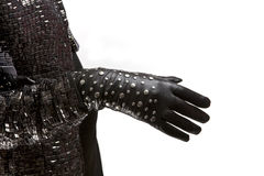 Futurist gloves Royalty Free Stock Images
