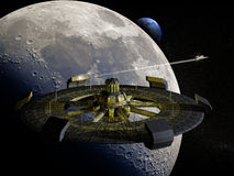 Futurista ISS Imagen de archivo