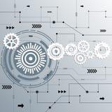 Futuriste abstrait de vecteur Image stock