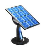 Futuristic 3d solar panel Royalty Free Stock Photos