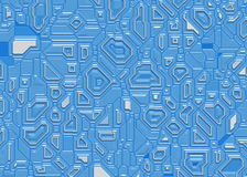 Futuristic abstract background digital smooth texture Stock Photography