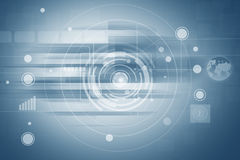 Futuristic Abstract Background. For Technology Concept And Ideas Royalty Free Stock Photo