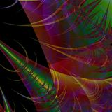Futuristic abstract background or wallpaper Royalty Free Stock Photography