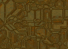 Futuristic abstract backgrounds. digital metal rusty texture Royalty Free Stock Images