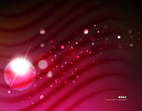 Futuristic abstract blurred flares and colors. Hi-tech futuristic abstract blurred flares and colors Stock Photos