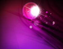 Futuristic abstract blurred flares and colors Royalty Free Stock Image