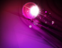 Futuristic abstract blurred flares and colors. Hi-tech futuristic abstract blurred flares and colors Royalty Free Stock Photography