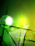 Futuristic abstract blurred flares and colors. Hi-tech futuristic abstract blurred flares and green colors Stock Image