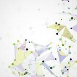 Futuristic abstract  dna Royalty Free Stock Photos