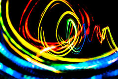 Futuristic abstract graphic blurred  background Stock Image
