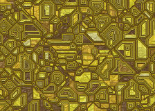 Futuristic abstract tech backgrounds Stock Images