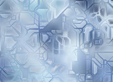 Futuristic abstract tech gear backgrounds. digital smooth textur Stock Photo