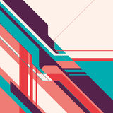 Futuristic abstraction in color. Stock Images