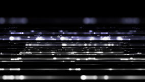 Futuristic animation with light stripes in motion, loop HD 1080p Stock Images