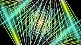 Futuristic animation with stripe object and blinking light in motion, loop HD 1080p stock video
