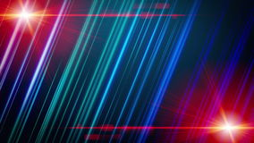 Futuristic animation with stripe object and light, loop HD 1080p. Futuristic video animation with moving stripe object and lights, loop HD 1080p stock video footage