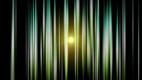 Futuristic animation with stripe object and light in motion, loop HD 1080p stock video