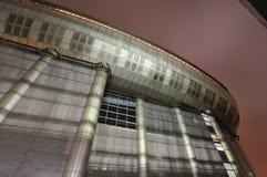 Futuristic architecture royalty free stock image