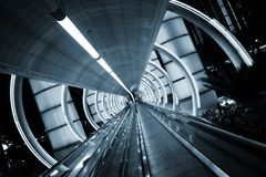 Futuristic architecture Stock Photography
