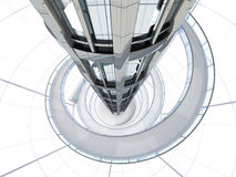 Futuristic Architecture Royalty Free Stock Photo