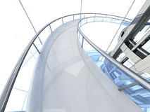Futuristic Architecture Royalty Free Stock Photography