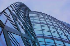 Futuristic architecture royalty free stock photos