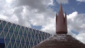Futuristic Architecture Astana stock video footage