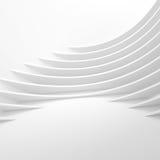 Futuristic Architecture Background. Web Graphic Design. 3d Illustration Stock Image