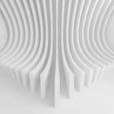 Futuristic Architecture Background. Web Graphic Design. 3d Illustration Royalty Free Stock Image