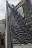 Futuristic architecture in the city Stock Photo