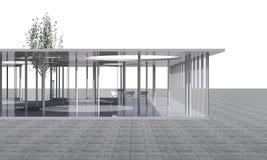 Futuristic Architecture,  Conceptual modern building Stock Image