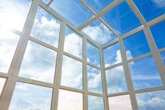 Futuristic architecture inside Stock Photo