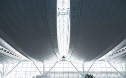 Futuristic architecture. Royalty Free Stock Photos