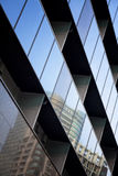 Futuristic architecture, office building facade Royalty Free Stock Photo