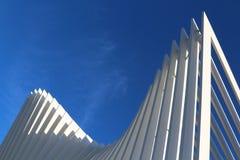 Futuristic architecture. Original photo modern and futuristic architecture Stock Photography