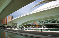 Futuristic architecture of valencia Royalty Free Stock Image
