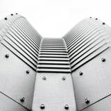 futuristic arkitektonisk detalj Royaltyfria Foton