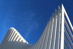 futuristic arkitektur Arkivbild