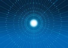 Futuristic background. Blue futuristic background Royalty Free Stock Photos