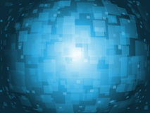 Futuristic background. With sphere effect Royalty Free Stock Images