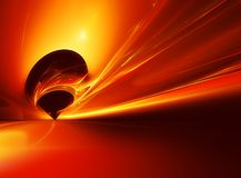 Futuristic background. Abstract brightly fiery futuristic background Royalty Free Stock Photography