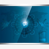 Futuristic background Royalty Free Stock Image
