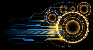 Futuristic background. Futuristic abstract background in vector Royalty Free Stock Image
