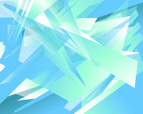 Futuristic background with angular, edgy shapes. Abstract geomet Royalty Free Stock Photography