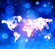 global business network Royalty Free Stock Photography